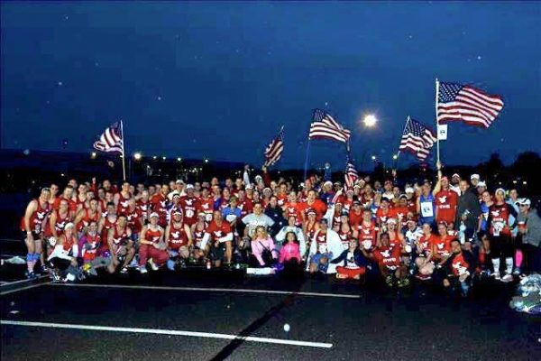 There are more than 100 Team RWBs across the nation.