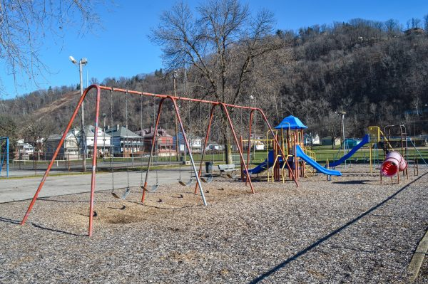 The Pulaski Playground in South Wheeling has been a popular spots for local children for decades.