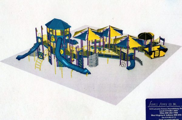 The playground would be an all-inclusive facility.