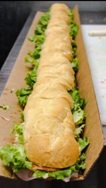 Stadiums is currently conducted a contest so a local customer can win a six-foot sub for Super Bowl Sunday on Feb. 7.