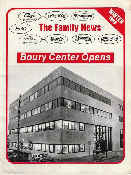 The newsletter was distributed to each and every employee of Boury Enterprises.