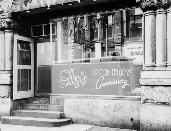 Elby's first commissary was located along Market Street in downtown Wheeling.