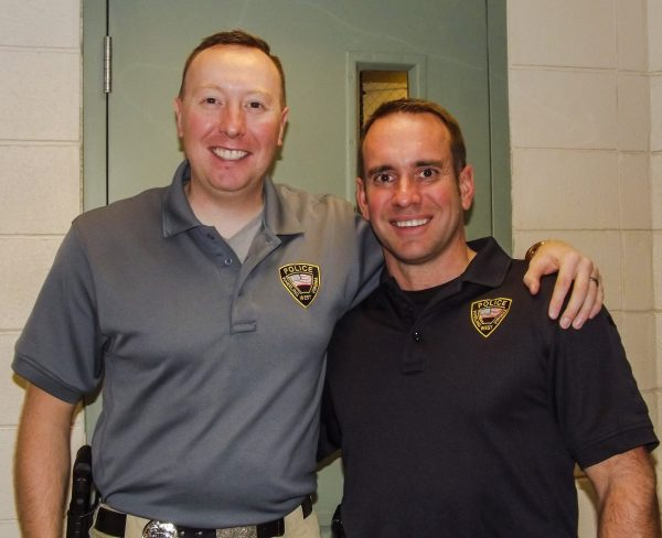 Cpl. Josh Sanders and Lt. Phil Redford have been the lead organizers for the Academy since 2010.