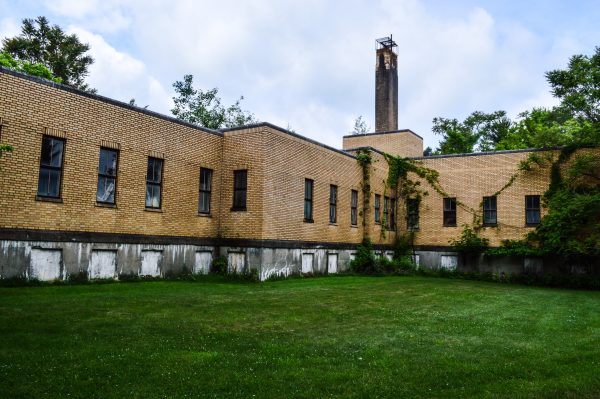 One issue the three Ohio County commissioner may consider soon is the demolition of the former asylum at Roney's Point.