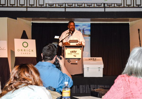 Ron Scott Jr. proposed the Upper Ohio Valley Hip Hop Awards in May and was deemed the winner by those in attendance.