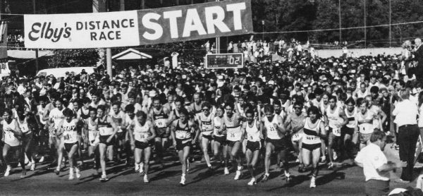 In 1977 more than 700 runners competed, but the race averaged more than 1,500 participants in the years that followed.