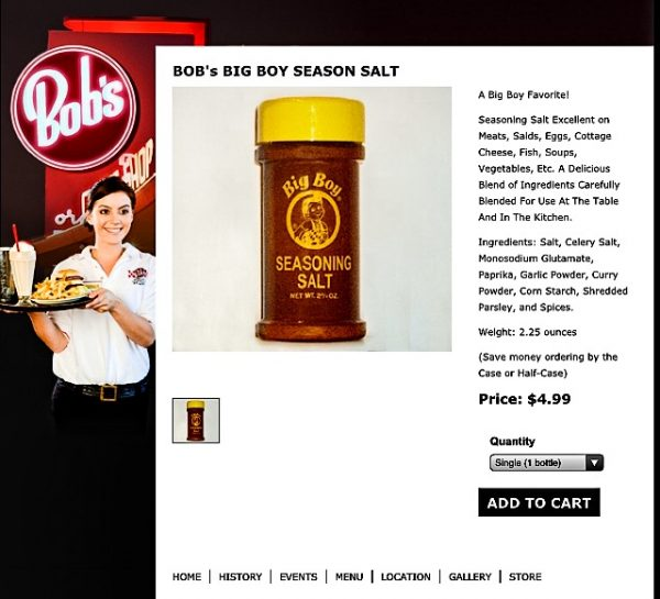 That seasoning salt can be purchased on the Internet.