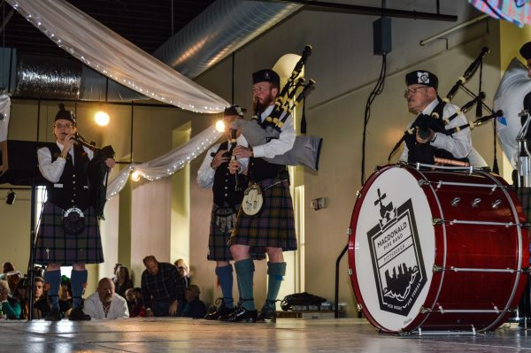 The Macdonald Pipe Band of Pittsburgh featured performing from throughout the Upper Ohio Valley and western Pennsylvania.