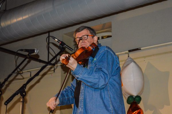 One of the most celebrated Irish fiddlers in the world, Kevin Burke.