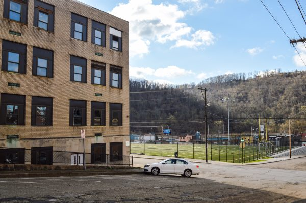 The 83,000-square-foot building is located across 15th Street from the J.B. Chambers Recreation Park in East Wheeling.