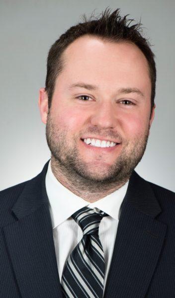 Ward 1 council candidate Chad Thalman.