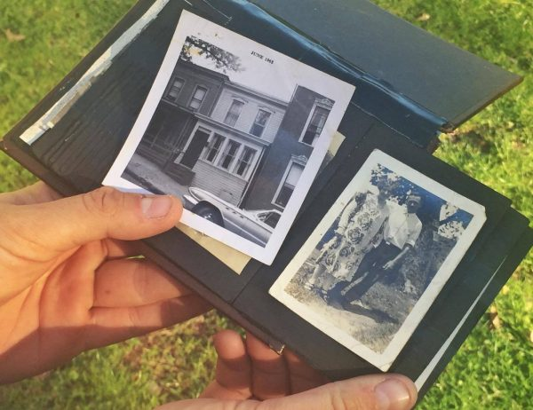 Wilson possesses several photos of his family through five generations.