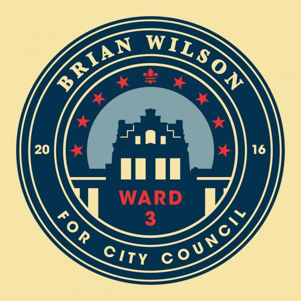 Wilson announced his candidacy for Ward 3 in September of last year.