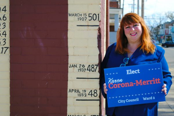 This is the first time Karen Corona Merritt is running for city council.