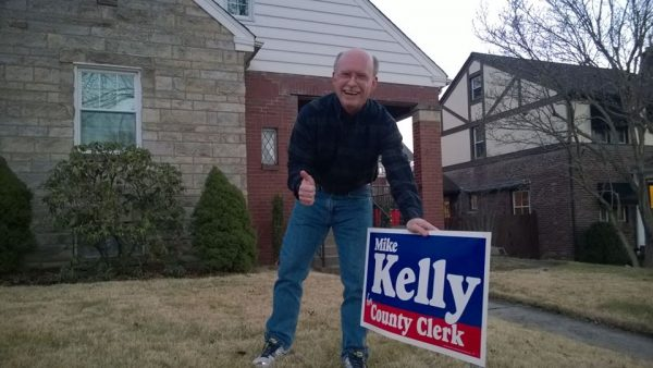 Ohio County resident David Yaeger is an eager voter and supporter of the Kelly campaign.