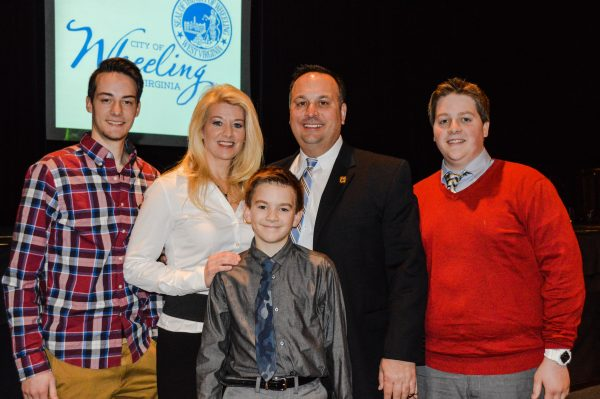 "Wheeling's ""First Family"" for the past eight years."