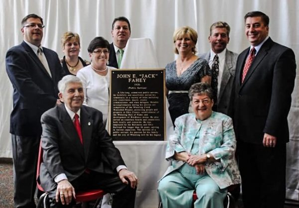 Fahey's father, Jack, was inducted into the Wheeling Hall of Fame in 2011.