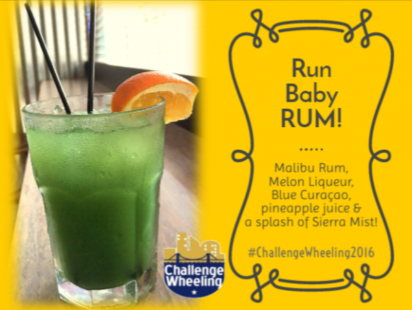 The River City will offer several beverage specials on Saturday, including this mixed drink dedicated to Challenge Wheeling.