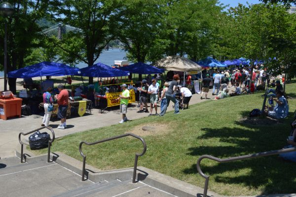 The event attracts hundreds of attendees each year.