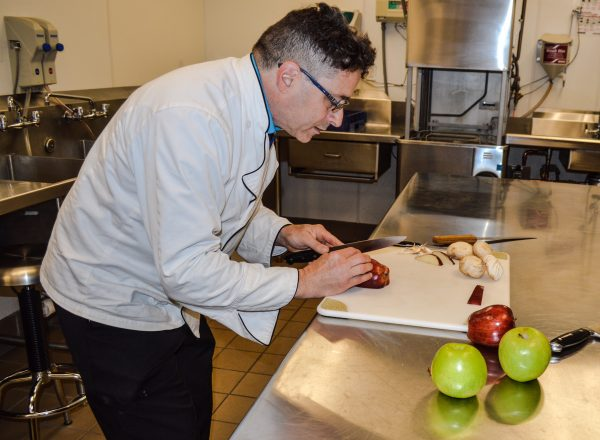 He's self-taught but now teaches culinary arts in the Upper Ohio Valley.