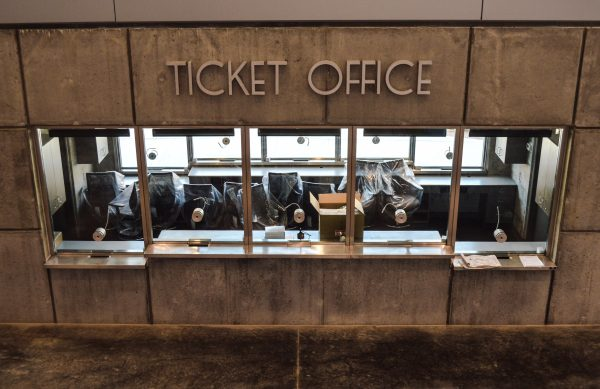 An interior ticket office was a vital addition to the arena.