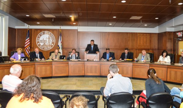 Wheeling Mayor Andy McKenzie presided over his final regular council meeting this past Tuesday.