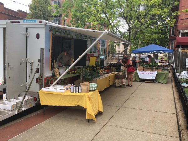 The mobile market and the Community Supported Agriculture Program are available in East Wheeling each Wednesday.