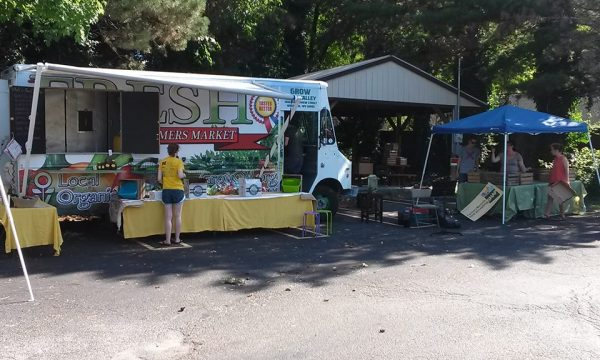 Grow Ohio Valley and Wheeling Health Right began a partnership on July 14 to make fresh, healthy foods available to the Health Right clientele.