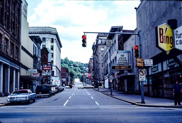 While 10th, 14, and 16th streets in downtown Wheeling, 12th Street has been a one-way path for many years.