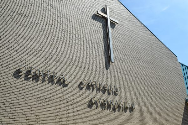 The Central Catholic Gymnasium is located on 13th Street in East Wheeling.