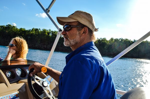 Steve Keblesh worked as a river guide before owning and manging the Summersville Lake Retreat and Lighthouse.