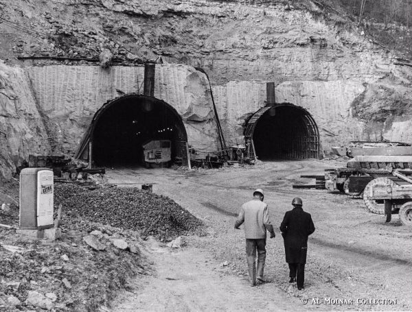 Wheeling Tunnel opened to traffic on Dec. 7, 1966, according to the Division of Highways.