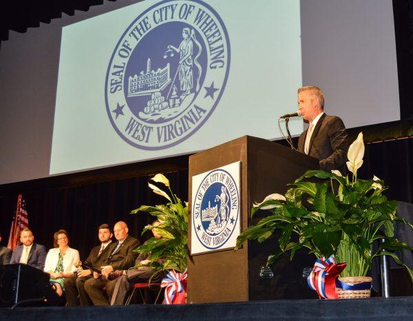 Wheeling Mayor Glenn Elliott supports establishing LGBT standards in Wheeling.