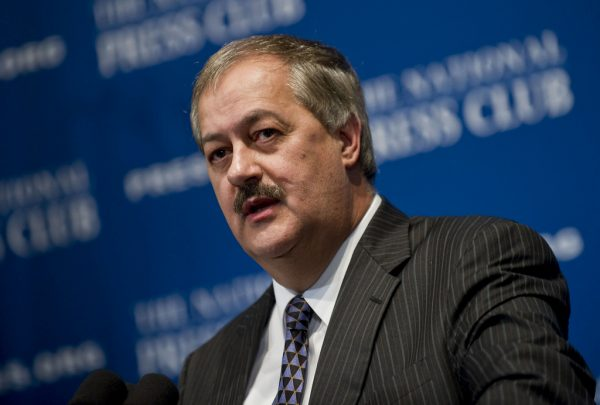 Don Blankenship was convicted in federal court in April, six years and one day after 29 miners were killed in a coal dust explosion at the Upper Big Branch Mine.