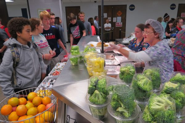 More than 40 employees work in the school district's child nutrition department.