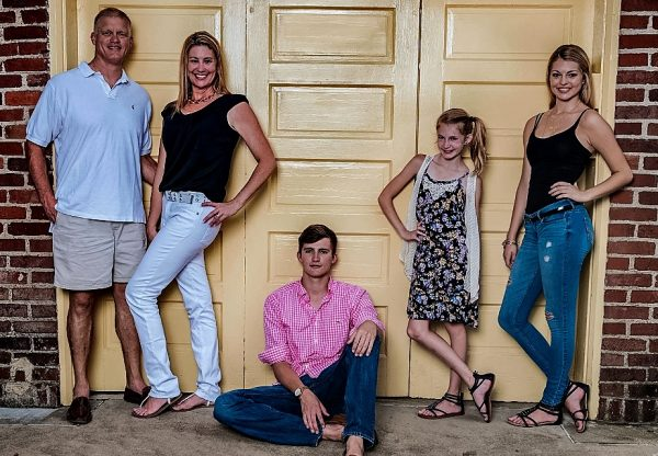 The Storch family - Tom and Erikka, son Seth, and daughters Payton and Alexis.