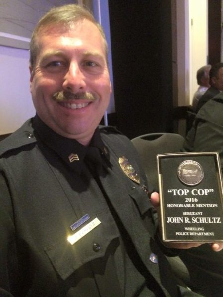 Sgt. Schultz is a 21-year veteran of the Wheeling Police Department.