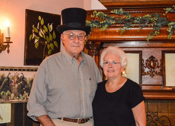 Joe and Gretchen Figaretti are the proprietors of the Eckhart House.
