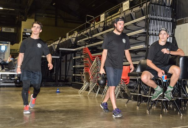Condition has been an important part of the Nailers' preseason workouts.