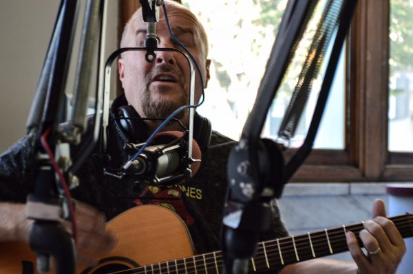 Local musician Gregg Molnar is scheduled to perform this Saturday from 11 a.m. until 1 p.m.