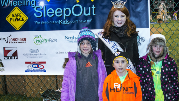 Former Miss West Virginia Paige Madden has been a big supporter of the Wheeling Sleepout for several years.