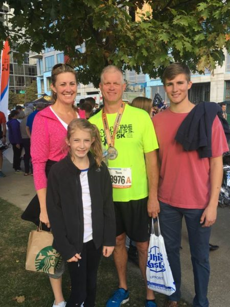 Storch's husband, Tom, recently competed in the Nationwide Children's Hospital Columbus Half Marathon.