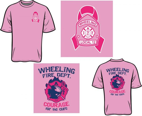Since 2011, Wheeling's firefighters have raised a little more than $50,000 during Breast Cancer Awareness month.