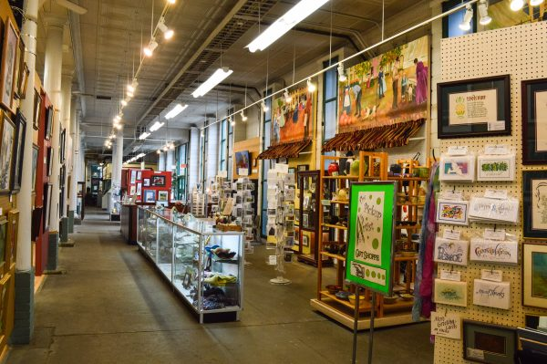If purchasing locally produced art is part of this year's shopping plan Artworks Around Town would be a great place to visit.