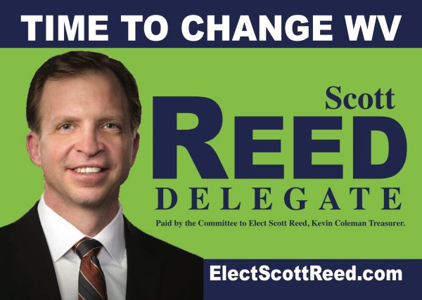 Reed believes the only way for West Virginia to gain population is to change the direction of state government.