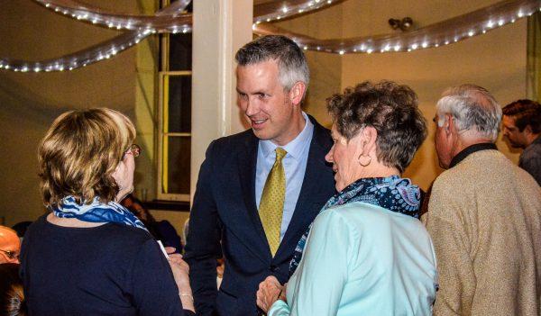 Wheeling Mayor Glenn Elliott (middle) believes the city consistently lives up to its nickname.