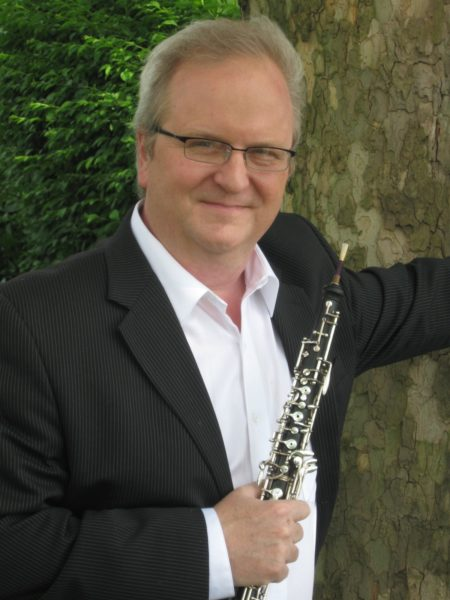 Robert Driscoll, principal oboe of the Wheeling Symphony