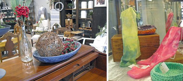Items on sale in Wheeling during Small Business Saturday
