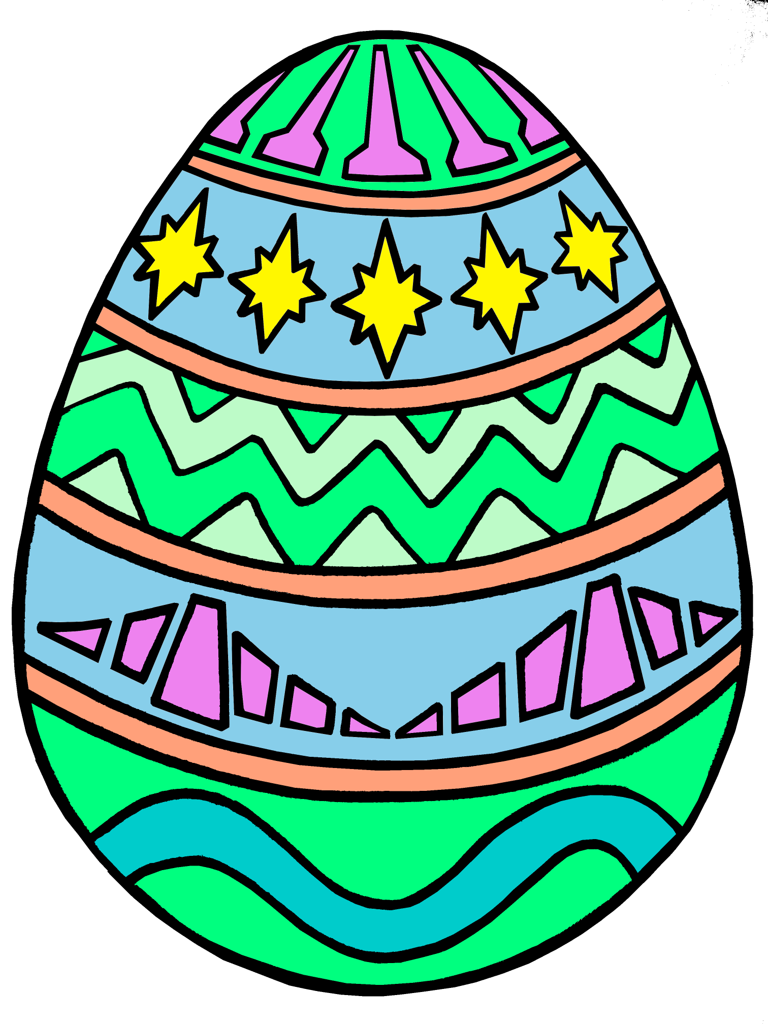 Colored Egg