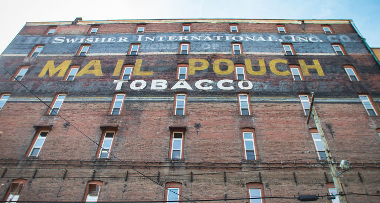 bloch bros mail pouch ghost sign